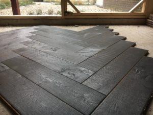 donkere houten vloer Amersfoort