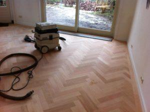 visgraat vloer schuren Amersfoort